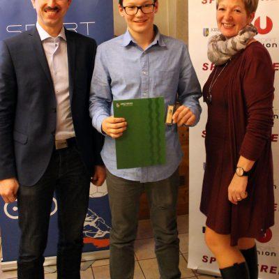 Ehrenzeichen Jugend Silber: Prielinger Simon