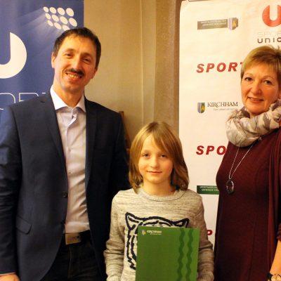 Ehrenzeichen Jugend Bronze: Sonntagbauer Nico