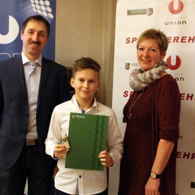 Ehrenzeichen Jugend Bronze: Sosnowski Dennis